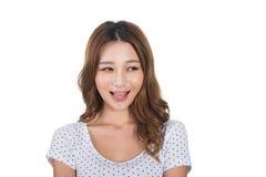 Mulher asiática nova imagens de stock