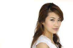 Mulher asiática nova Fotografia de Stock