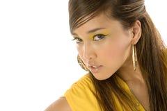 Mulher asiática 'sexy' bonita imagem de stock royalty free