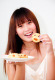 Mulher asiática bonito Fotos de Stock Royalty Free