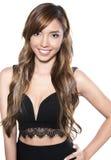 Mulher asiática nova bonita Fotos de Stock Royalty Free