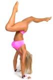 Mulher atlética Fotografia de Stock