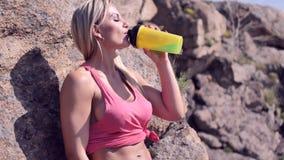 Mulher atlética nova video estoque