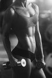Mulher atlética Imagem de Stock