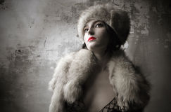 Mulher atrativa Foto de Stock Royalty Free