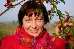 Mulher atrativa Fotos de Stock Royalty Free