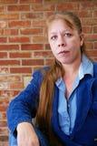 Mulher atrativa fotografia de stock royalty free