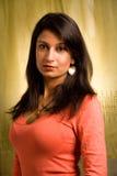 Mulher atrativa de Desi Imagem de Stock