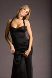 Mulher atrativa no vestido imagens de stock royalty free