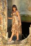 Mulher atrativa nova Foto de Stock Royalty Free