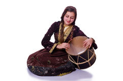 Mulher azeri nova Foto de Stock Royalty Free