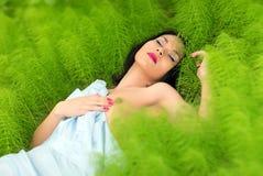 mulher azian bonita Fotos de Stock