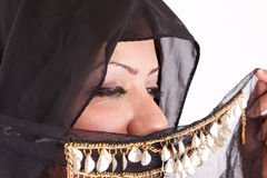 Mulher beduína bonita Imagens de Stock