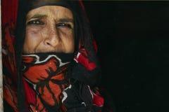 Mulher beduíno Foto de Stock Royalty Free