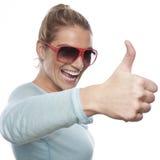 Mulher bem sucedida Fotos de Stock