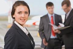 Mulher bem sucedida Fotografia de Stock