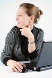 Mulher bem sucedida nova Fotos de Stock
