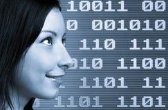 Mulher binária Fotografia de Stock Royalty Free