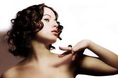 Mulher bonita Foto de Stock Royalty Free