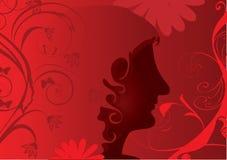 Mulher bonita ilustração stock