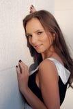 Mulher bonita ao ar livre Fotos de Stock