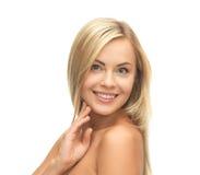 Mulher bonita com cabelo longo Fotografia de Stock Royalty Free