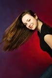 Mulher bonita com cabelo longo imagens de stock royalty free