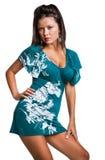 Mulher bonita da forma imagens de stock royalty free