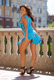Mulher bonita de Sext fotografia de stock