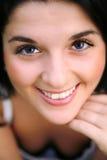 Mulher bonita de sorriso Fotografia de Stock Royalty Free