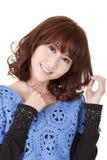 Mulher bonita do Asian Foto de Stock