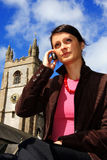 Mulher bonita do negócio Foto de Stock