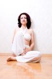 Mulher bonita do zen imagem de stock