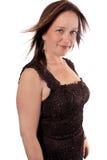Mulher bonita em seus anos quarenta Fotos de Stock Royalty Free