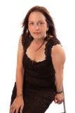 Mulher bonita em seus anos quarenta Fotos de Stock