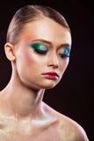 Mulher bonita Foto da arte da forma Fotografia de Stock Royalty Free