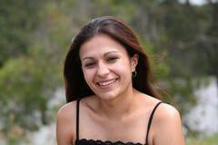 Mulher bonita no parque mim Imagens de Stock