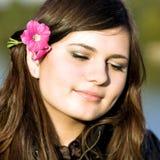 Mulher bonita nova Imagem de Stock
