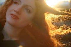 Mulher bonita nova Foto de Stock Royalty Free