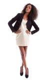 Mulher bonita nova do americano africano fotos de stock