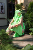 Mulher bonita nova vestida no estilo oriental Imagem de Stock