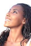 Mulher bonita preta Fotos de Stock Royalty Free