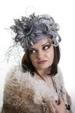 Mulher bonita triste. Foto de Stock