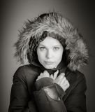 Mulher caucasiano atrativa nos seus 30 isolada na Fotos de Stock