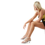Mulher caucasiano bonita nova Foto de Stock Royalty Free