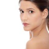 Mulher caucasiano nova bonita Fotos de Stock