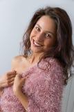 Mulher Charming Imagens de Stock