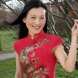 Mulher chinesa bonita Fotos de Stock