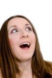 Mulher choc Fotografia de Stock