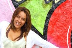 Mulher colombiana foto de stock
